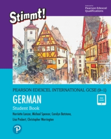 Pearson Edexcel International GCSE (9-1) German Student Book, Mixed media product Book