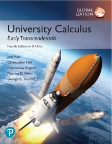 University Calculus: Early Transcendentals in SI Units, Paperback / softback Book