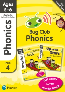 Bug Club Phonics Parent Pack 4 for ages 5-6; Phonics Sets 10-12, Mixed media product Book
