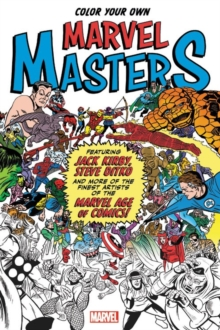 Color Your Own Marvel Masters, Paperback / softback Book