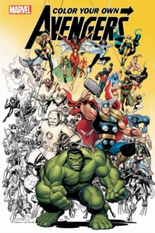 Color Your Own Avengers, Paperback / softback Book