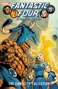 Fantastic Four By Jonathan Hickman: The Complete Collection Vol. 1, Paperback / softback Book