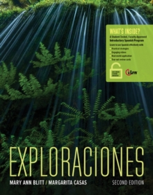Exploraciones (with iLrn Heinle Learning Center, 4 terms (24 months) Printed Access Card), Mixed media product Book