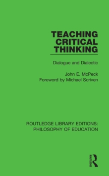 Teaching critical thinking dialogue and dialectic john e mcpeck teaching critical thinking dialogue and dialectic pdf fandeluxe Gallery