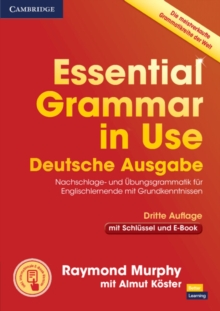 Essential Grammar in Use Book with Answers and Interactive eBook German Edition, Mixed media product Book