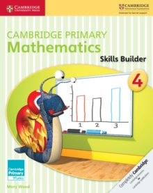 Cambridge Primary Mathematics Skills Builder 4, Paperback Book