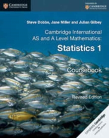 Cambridge International AS and A Level Mathematics: Revised Edition Statistics 1 Coursebook, Paperback / softback Book