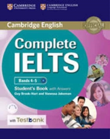 Complete : Complete IELTS Bands 4-5 Student's Book with Answers with CD-ROM with Testbank, Mixed media product Book