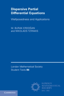 Dispersive Partial Differential Equations : Wellposedness and Applications, Paperback Book