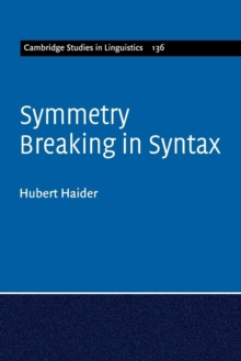 Symmetry Breaking in Syntax, Paperback / softback Book