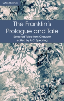 The Franklin's Prologue and Tale, Paperback / softback Book