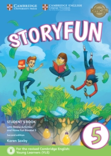 Storyfun 5 Student's Book with Online Activities and Home Fun Booklet 5, Mixed media product Book