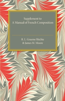 Supplement to a Manual of French Composition, Paperback / softback Book