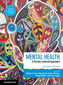 Mental Health : A Person-centred Approach, Mixed media product Book