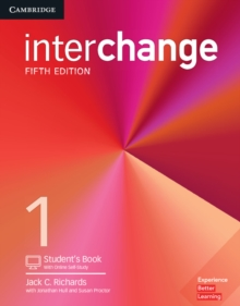 Interchange : Interchange Level 1 Student's Book with Online Self-Study, Mixed media product Book