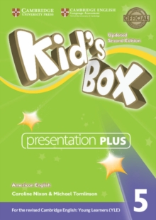 Kid's Box Level 5 Presentation Plus DVD-ROM American English, DVD-ROM Book