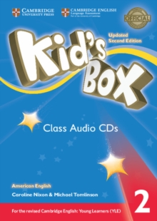 Kid's Box Level 2 Class Audio CDs (4) American English, CD-Audio Book