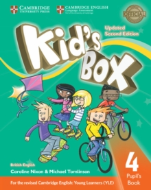 Kid's Box Level 4 Pupil's Book British English, Paperback / softback Book