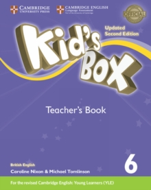Kid's Box Level 6 Teacher's Book British English, Paperback Book