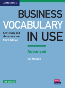 Business Vocabulary in Use: Advanced Book with Answers, Paperback / softback Book