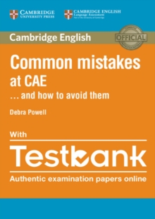 Common Mistakes at CAE... and How to Avoid Them Paperback with Testbank, Mixed media product Book