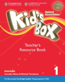 Kid's Box Level 1 Teacher's Resource Book with Online Audio British English, Mixed media product Book