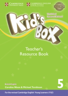 Kid's Box Level 5 Teacher's Resource Book with Online Audio British English, Mixed media product Book