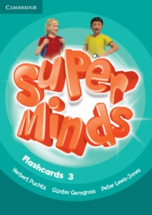 Super Minds Level 3 Flashcards (Pack of 83), Cards Book