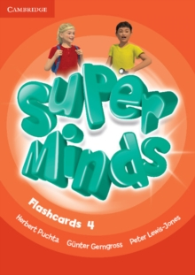 Super Minds Level 4 Flashcards (Pack of 89), Cards Book