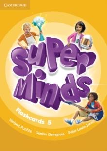 Super Minds Level 5 Flashcards (Pack of 93), Cards Book