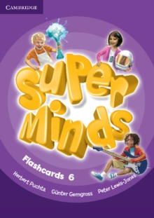 Super Minds Level 6 Flashcards (Pack of 98), Cards Book