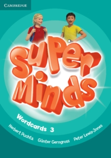 Super Minds Level 3 Wordcards (Pack of 83), Cards Book