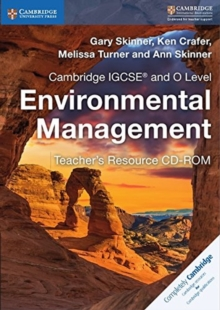 Cambridge IGCSE (R) and O Level Environmental Management Teacher's Resource CD-ROM, CD-ROM Book