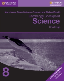 Cambridge Checkpoint Science Challenge Workbook 8, Paperback Book