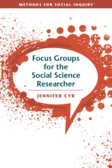 Focus Groups for the Social Science Researcher, Paperback / softback Book