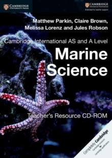 Cambridge International AS and A Level Marine Science Teacher's Resource CD-ROM, CD-ROM Book