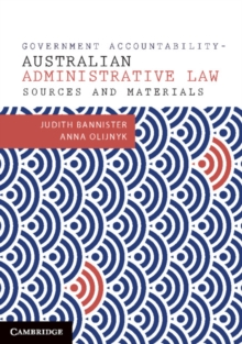 Government Accountability Sources and Materials : Australian Administrative Law, Paperback / softback Book