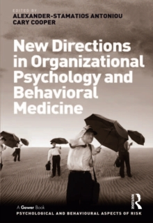 New Directions in Organizational Psychology and Behavioral Medicine, PDF eBook