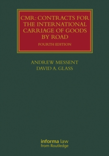 CMR: Contracts for the International Carriage of Goods by Road, PDF eBook