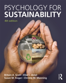Psychology for Sustainability : 4th Edition, PDF eBook