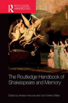 The Routledge Handbook of Shakespeare and Memory, EPUB eBook