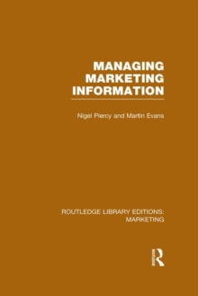 Managing Marketing Information (RLE Marketing), EPUB eBook