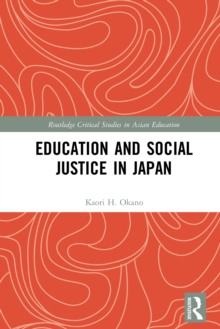 Education and Social Justice in Japan, PDF eBook