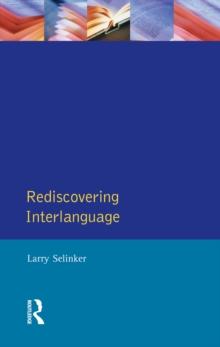 Larry Selinker Interlanguage Pdf