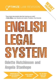 Optimize English Legal System, PDF eBook