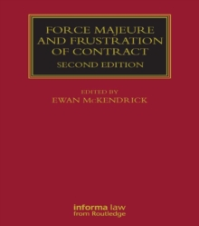 Force Majeure and Frustration of Contract, PDF eBook