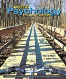 Annotated Teacher's Edition for Myers' Psychology for AP*, Hardback Book