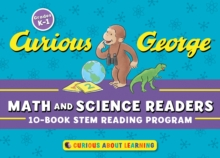 Curious George Math & Science Readers: 10-Book STEM Reading Program, Paperback / softback Book
