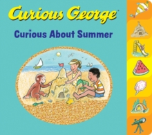 Curious George Curious About Summer (tabbed board book), Board book Book