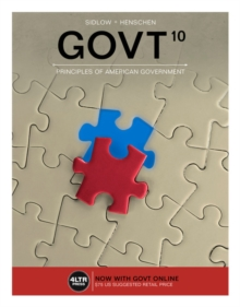 GOVT (with MindTap Political Science, 1 term (6 months) Printed Access Card), Mixed media product Book